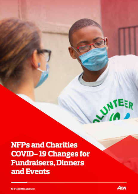 NFPs and Charities COVID- 19 Changes for Fundraisers, Dinners and Events